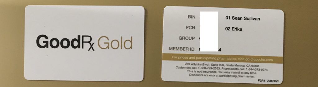 The GoodRx Gold Card