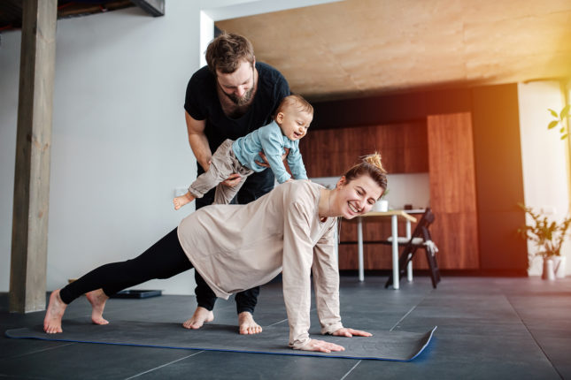 The Best Physical Activities for New Moms (& Dads)